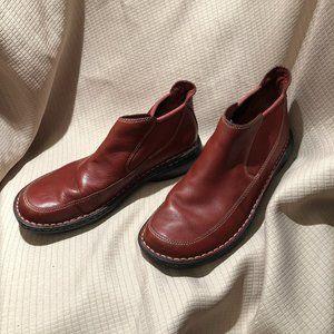 Merrell wm Tetra Pace Red Bean booties 10